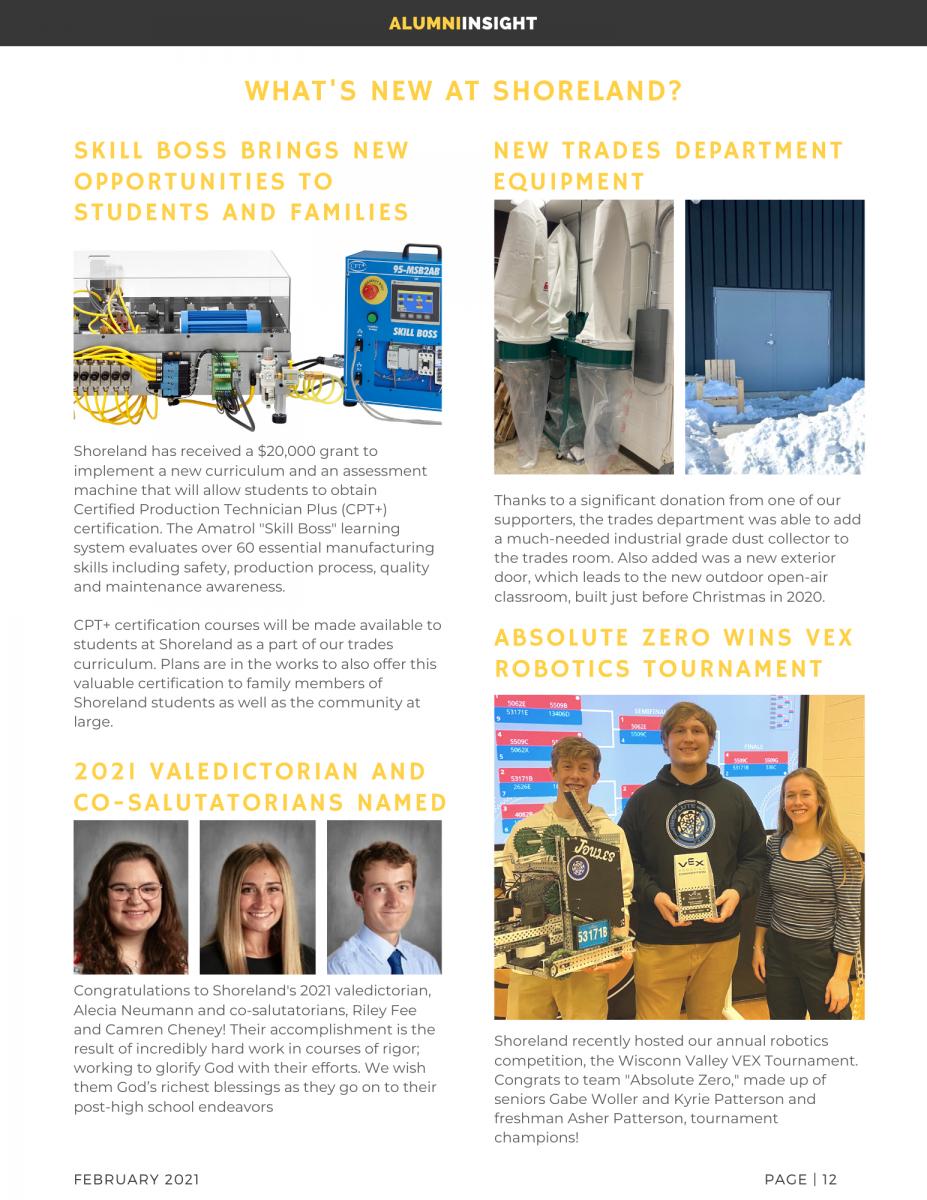 Alumni Newsletter - 2nd Edition